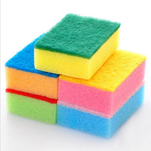 9*6*3cm Strong colorful nano-antibacterial cleaning sponge  Kitchen&Household Cleaning Eco-Friendly