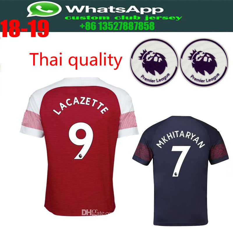 d81c67d34 2018 19 Optimum quality Arsenales Adlut soccer Jerseys camisetas shirt  survetement man Football shirt. With patch free shipping