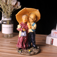 home decoration accessories home decor Garden Figures love figurines decorative crafts house ornaments resin grandma