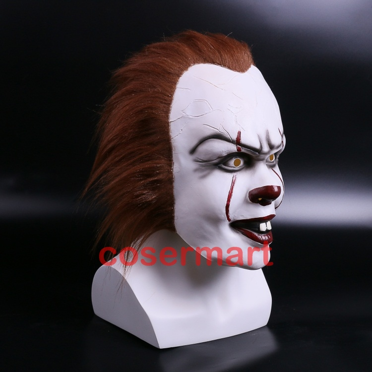 Halloween Pennywise Costume Stephen King IT 2 Scary Clown Man Cosplay Prop Girl Children Toy Trick or treat (4)