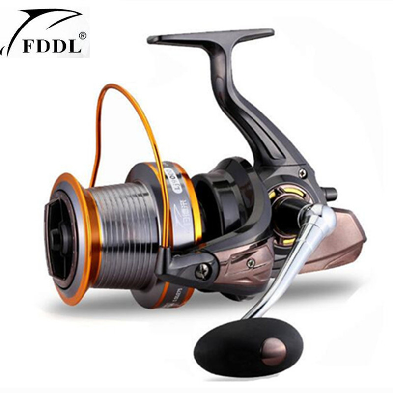 9000-3000 Seires 12+1 Ball Bearings Trolling Fishing Reel High Speed 5.2:1 Super Big Long Casting Sea Spinning Fishing Reels