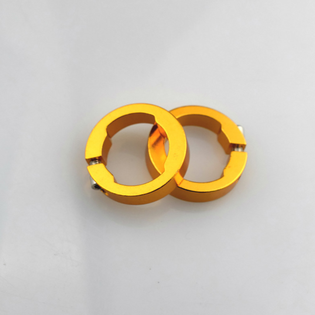 Lock Rings Bike Parts Replacement Aluminum Alloy Durable Round Bar End For Bicycle Grips 8mm Fashionable Multi Colored Stable
