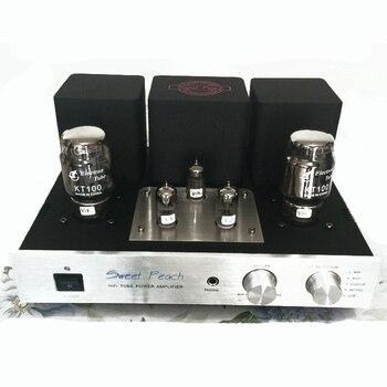 IWISTAO ламповый усилитель KT100 Power Stage 2x13 Вт триодное соединение класса A с сигналом мм Phono для наушников, usb-декодер