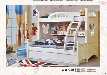 Bunk Bed Half Double Bed White Bed In Children Beds From Furniture
