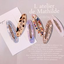 Decorative Colored Acetate Side Bangs BB Hair Clip Hollow Oval Shaped Women Girls Hairpin Leopard DIY Hair Styling Snap Barrette цены