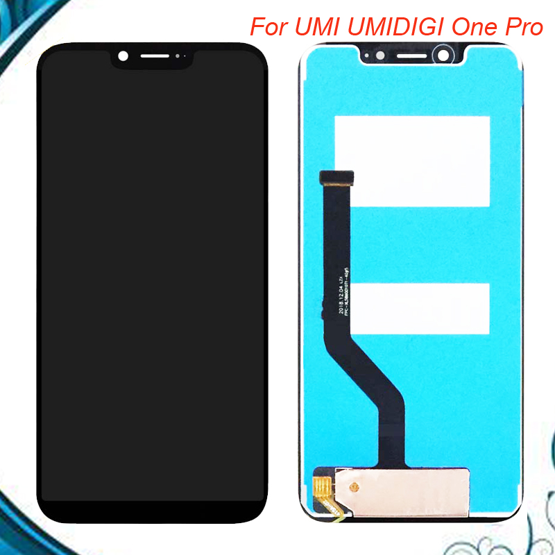 5.9 Black For UMI UMIDIGI One Pro LCD Display With Touch Screen Digitizer Assembly Repair Parts For UMI Umidigi One  5.9 Black For UMI UMIDIGI One Pro LCD Display With Touch Screen Digitizer Assembly Repair Parts For UMI Umidigi One