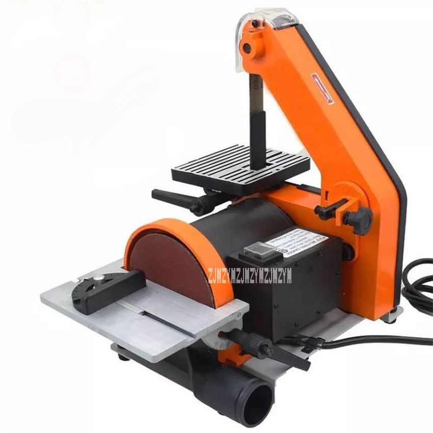 New Hot Sand Belt Machine 762 Polishing Machine High Quality Desktop Woodworking Grinding Machine 350W 220v/50HZ 2950Rpm 13.5m/s vertical type abrasive belt machine polishing grinding small bench 915 sand belt