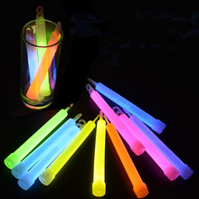 10 Pieces Colorful shiny sponge sticks Luminous Baton LED Foam Stick Chopsticks Rally Party Flashing Glow Batons Light