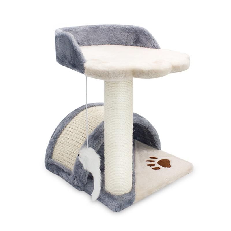 Chat jouet meubles étagère chat griffoir sisal chat escalade arbre meilleure vente produits pour animaux de compagnie livraison directe mascotas