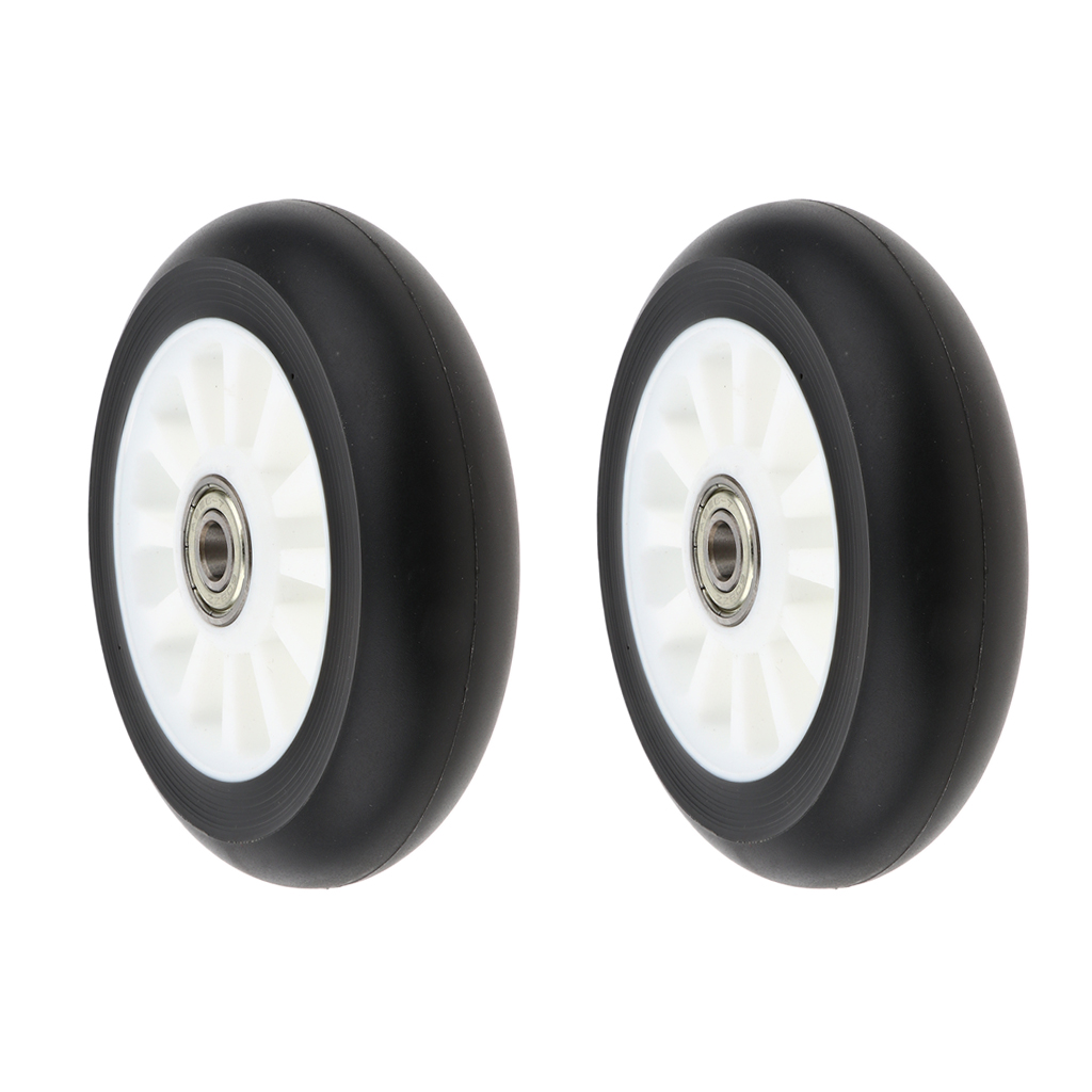 2 Pieces 100mm Complete Stunt Pro Scooter Wheels Replacement with Random Color Bearing Outdoor Speed Skating Equipment in Scooter Parts Accessories from Sports Entertainment