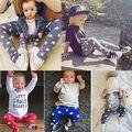 Симпатичные Новорожденных Мальчики Девочки Детские Брюки Брюки Шаровары PP Детей