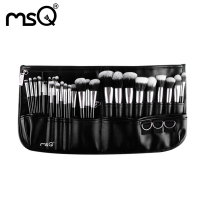 Professional Makeup Cosmetic 29 Pcs Set Pockets Artist Brush Goat Hair Wood Handle Fashion Women Cosmetic