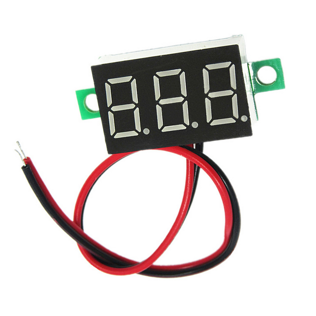 0,36 Zoll 2,5 V-32 V Mini Digital Voltmeter Spannung Tester Meter Led-bildschirm Elektronische Teile Zubehör Digital Voltmeter Weitere Rabatte üBerraschungen