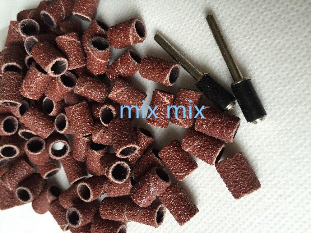 100 шт. 6 мм шлифовальной бумаги шлифовального круга абразивные полировальные для деревообработки Dremel инструменты аксессуары наждачная бума…