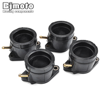 BJMOTO Motorcycle Carburetor Intake Manifold Interface Glue For Yamaha YZF600R Thundercat 1995 2007 4JH 13586 02 4JH 13596 02