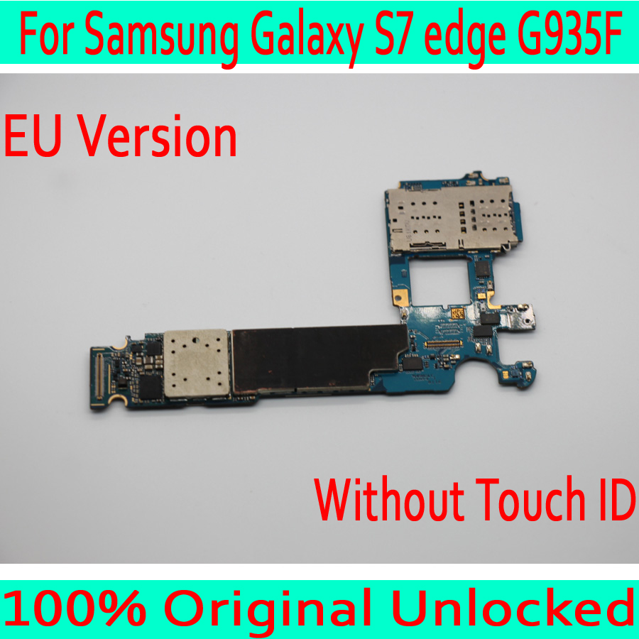 Pour Samsung Galaxy S7 edge G935F carte mère avec système Android, Original débloqué pour Samsung S7 G935F carte mère, livraison gratuite