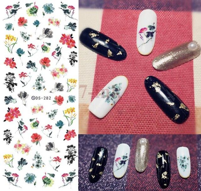 Stickers Voor Nail Art Diy Ontwerp Mooie Bloem Kleine Daisy Nail