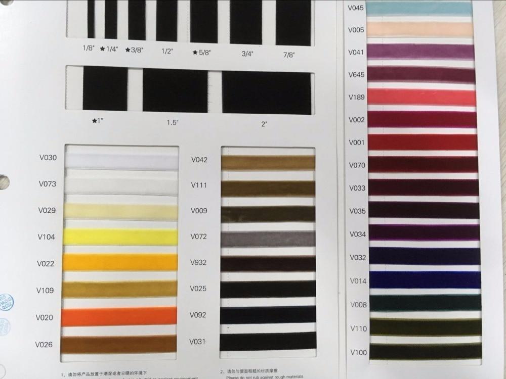 new velvet color chart