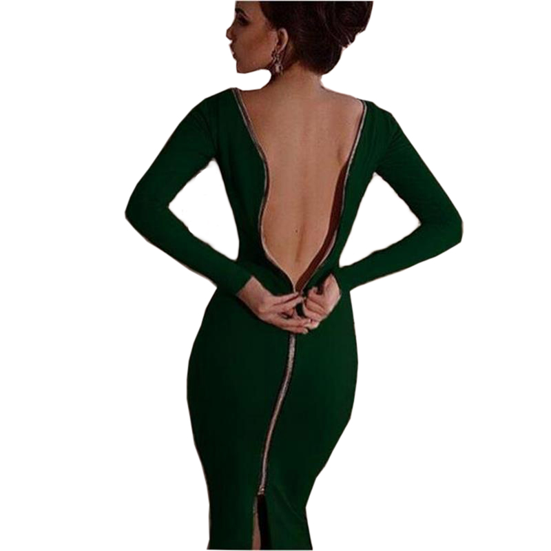 summer maxi bandage beach womens nude sexy dresses party night clubkim kardashian elegant celebrityback backless wrap dress image