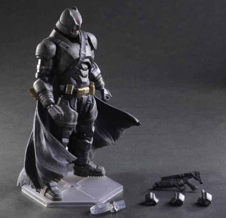 Tobyfancy Play Arts Kai Batman v Superman: Dawn of Justice 2rd Batman PVC Action Figure PA Arts Kai Collection Model Toy