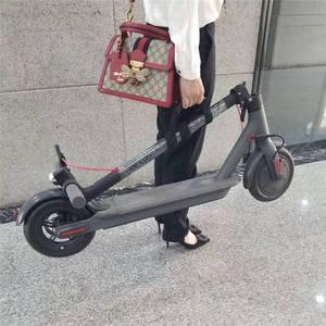 Image 2 - Portátil aperto de mão alça de transporte Skate Scooter de cinto Para Xiaomi Mijia M365 Ninebot ES1 ES2 Pega Correias Acessórios