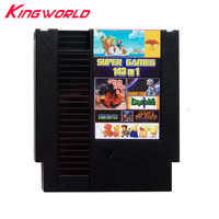 10sets High quality game cartridge 143 in 1 For NES 72pins with Dust Sleeve