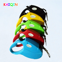 4.5m Retractable Pet Dog Leash Lead Training Pet Lead Puppy Nylon Leashes For Walking