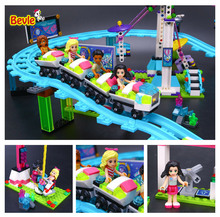 Bevle Lepin 01008 Friends Series Ferris Wheel Amusement Park Building Block 100% Compatible with Lepin 41130 Friends Toy