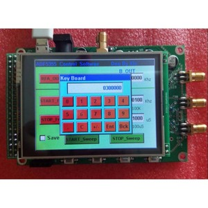 Image 4 - new ADF5355 module touch color screen lcd sweep RF signal source VCO microwave frequency synthesizer PLL free shipping G3 001