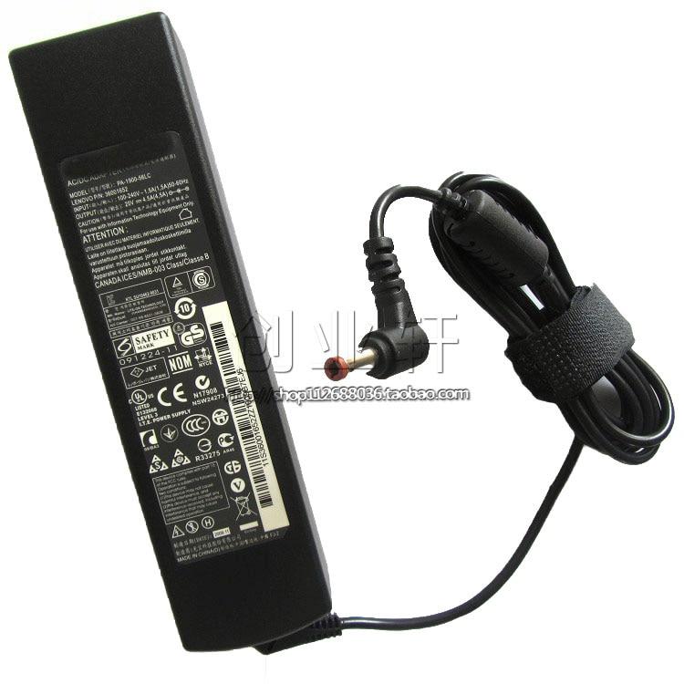 90W Notebook Power Adapter For Lenovo G470 G480 G565 G570 G575 G770 20V 4.5A Laptop Charger кейс для диджейского оборудования thon case for xdj rx notebook