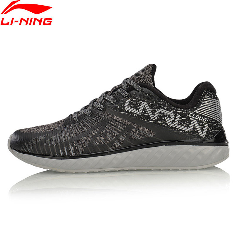 Li-Ning LN CLOUD IV 'FLAME' Women Running Shoes Mono Yarn Sneakers Anti-Slippery LiNing Breathable Sports Shoes ARHM068 XYP590 original li ning men professional basketball shoes