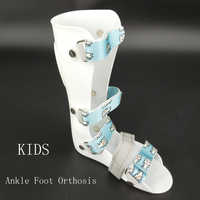 Kids Ankle Foot Sprains Braces Child Foot Drop Orthosis Ankle Fracture Rehabilitation Ligament Tear Talipes Varus Valgus Support