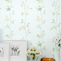 Rustic Romantic Flower Modern Chinese Style Wallpaper Tv Background Wallpaper