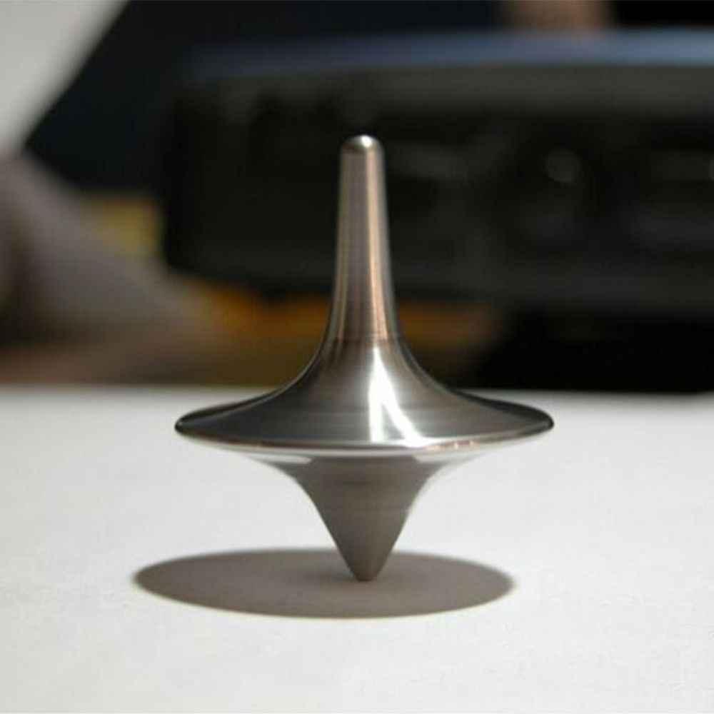 Металлический гироскоп отличный точный Серебряный спиннинг Топ горячий фильм Тотем печати спиннинг Топ apda7a08