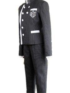Image 3 - 4ピース/セットdanganronpa V3殺害ハーモニーsaihara shuichi探偵コスプレ衣装の女性の制服衣装帽子かつら
