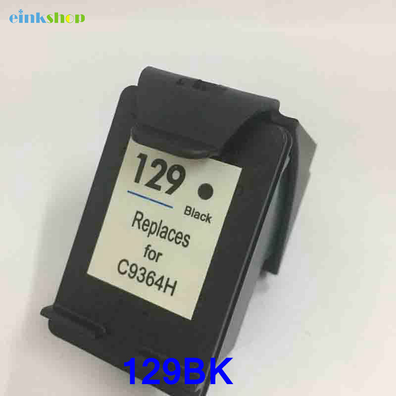 Einkshop compatible For hp129 black ink Cartridge For HP Photosmart C4183 4183 C4188 5063 5283 D5063 2573 C5283 8053 Printer in Ink Cartridges from Computer Office
