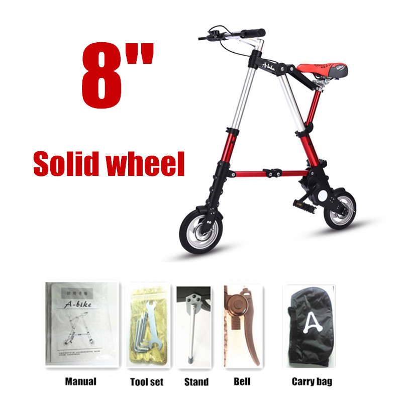 8 Solid wheel red