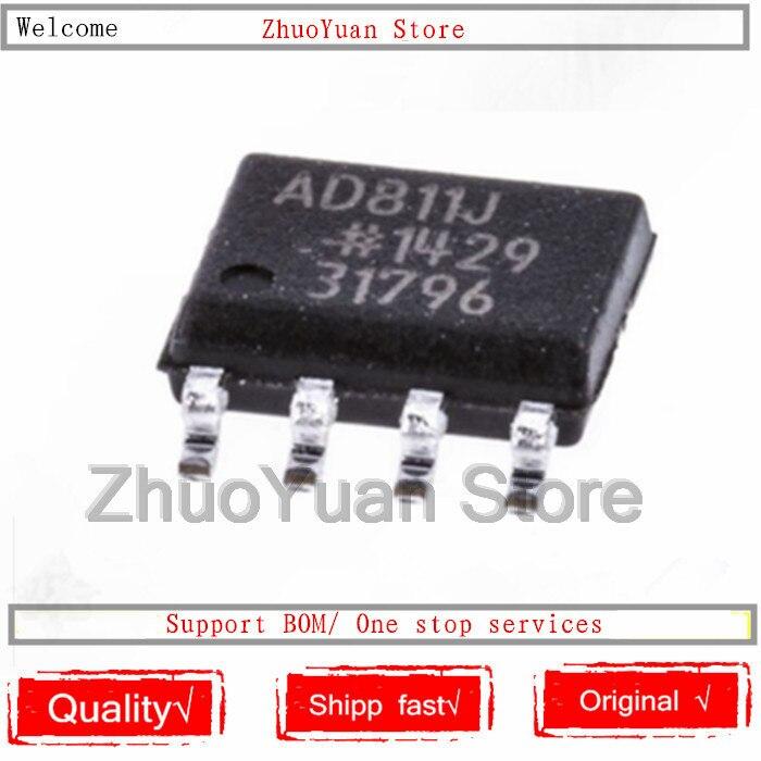 1PCS/lot AD811 AD811JR AD811J AD811JRZ Chip SOP-8 New Original IC