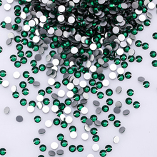 3D Rhinestones For Nail Art Decoration Flatback Glass Shapes Glitter Non Hotfix Crystal  Z120