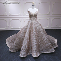 Angel married evening dress high quality prom dress robe soiree women Pageant dress formal dresses vestido de festa longo