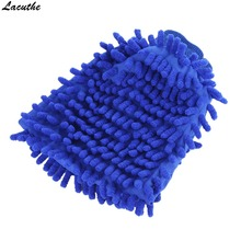 Car Cleaning Drying Gloves Ultrafine Fiber Chenille Microfiber Window Washing Tool Home Cleaning Car