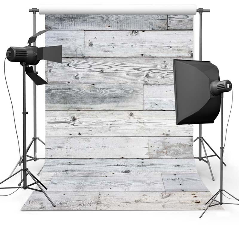 Тонкий Винил Деревянный Пол Фотография Фонов фотографический Фон ткань Новорожденный Фотографии Фон для фотостудии
