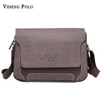 Luxury Design Casual Men S Leather Shoulder Bag Men Travel Bags POLO Famous Brand Male Messenger