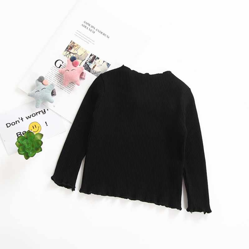 Toddler Kids Baby Girls Cotton Long Sleeve T-shirt Top Blouse Clothes Candy New