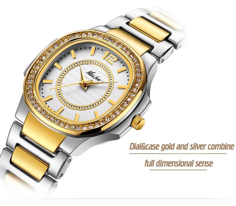 Women Watches Women Fashion Watch 19 Geneva Designer Ladies Watch Luxury Brand Diamond Quartz Gold Wrist Watch Gifts For Women 12