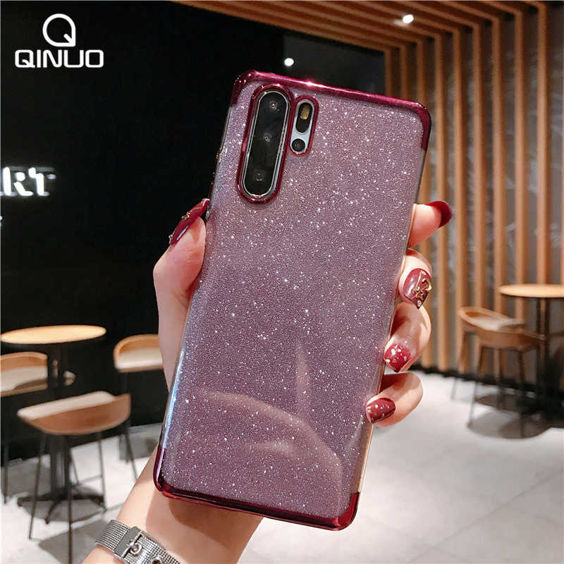 For Huawei P8 P9 P10 P20 P30 Pro Lite P Smart Z Plus 2019 Bling Glitter Phone Case For Huawei Nova 2i 2S 3i 3e 4 4e Soft Cover