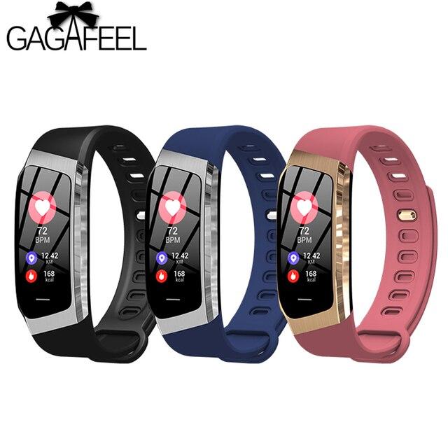 E18 Smart Watch Heart Rate Monitor Color Screen GPS Passometer Smart Bracelet IP