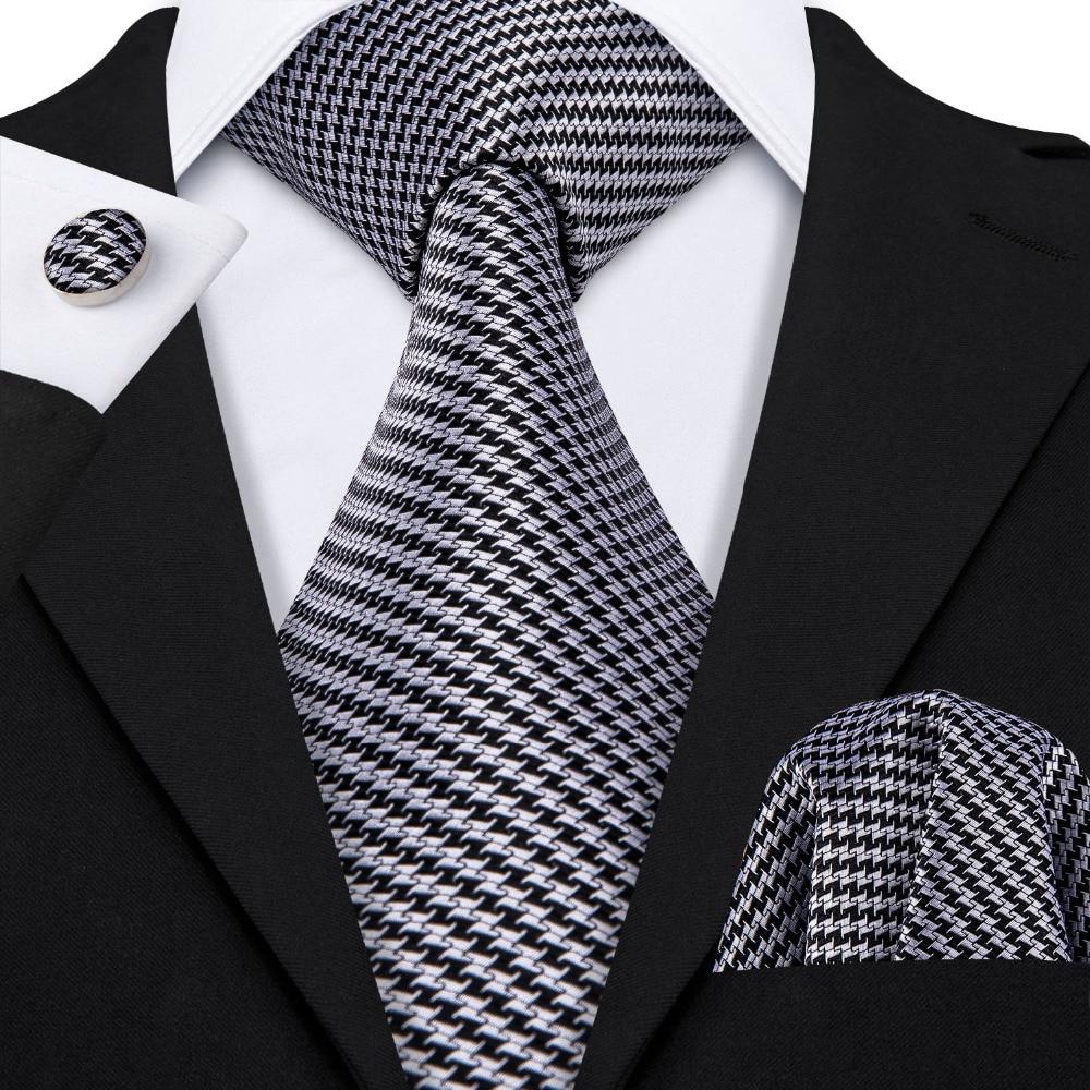 Men's Tie Set–Plain Maroon Brand New Hanky Cufflink-Woven 100/% Silk
