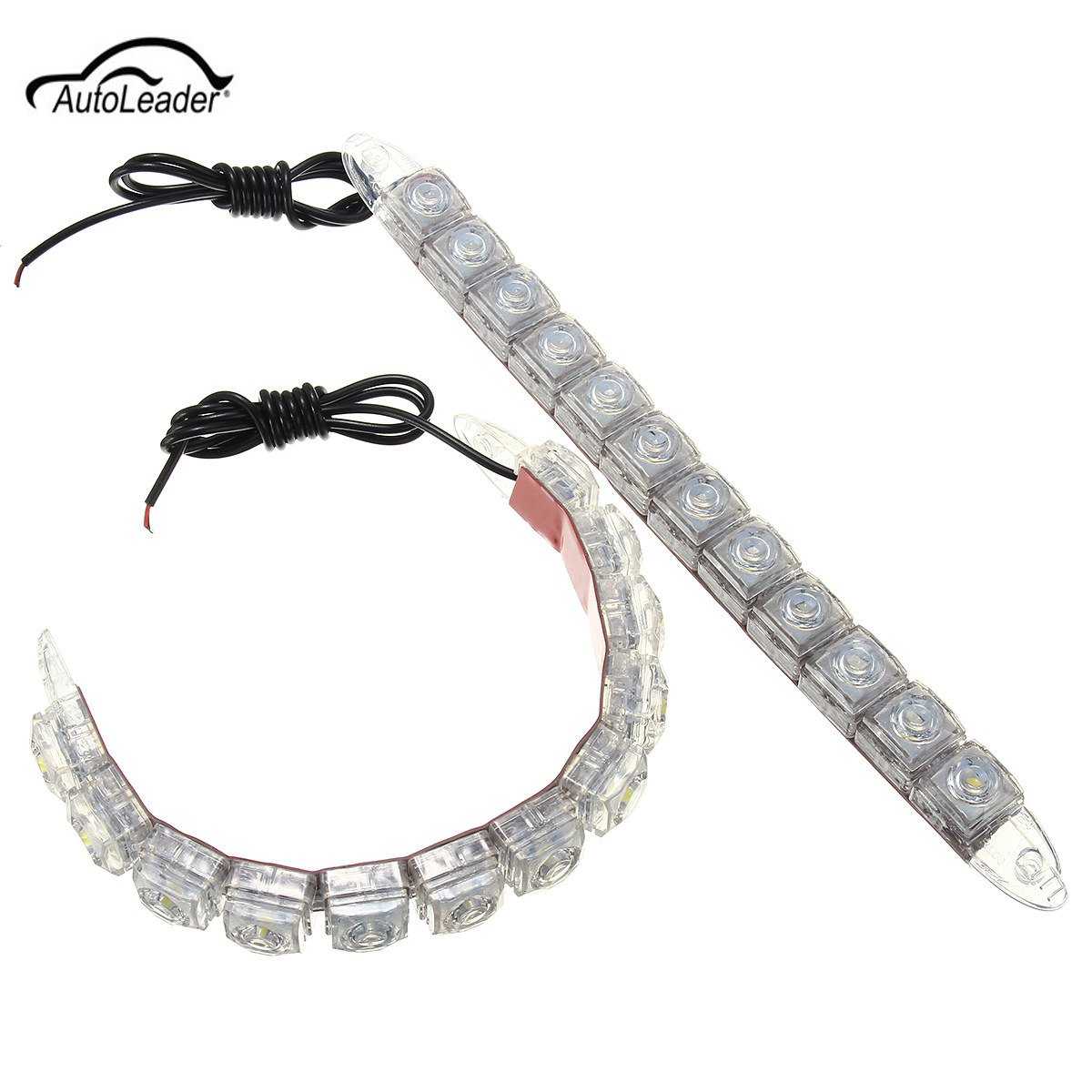 Led Car Flexible Daytime Running Light Drl Driving Fog