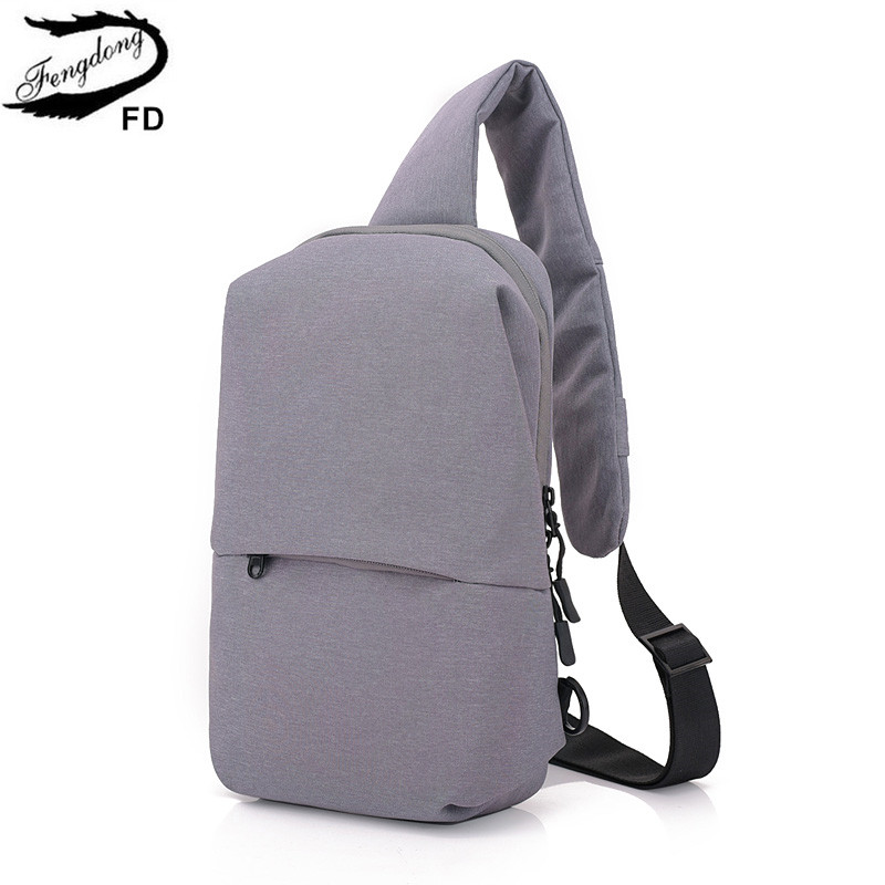 FengDong anti theft crossbody bags for men small shoulder messenger bag pack backbag mal ...